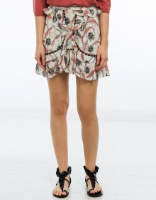 UGI - Printed cotton skirt ISABEL MARANT