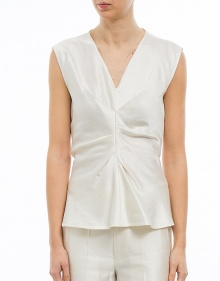 ROMNEY - Top satinado - crudo ISABEL MARANT