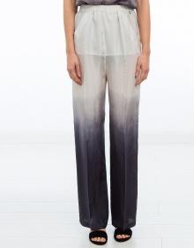 Pantalón ancho seda degrade TWIN-SET