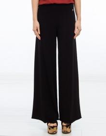 Pantalón ancho punto TWIN-SET