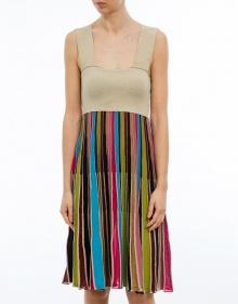 Vestido punto multicolor TWIN-SET