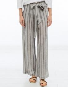 Pantalón ancho rayas MASSCOB