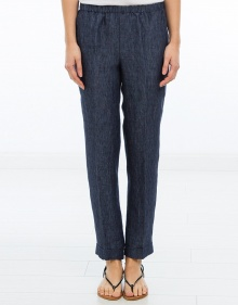 Linen trousers - blue MASSCOB