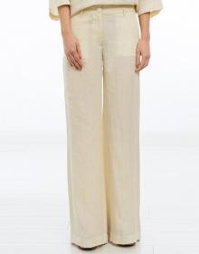 Pantalón ancho lino MASSCOB
