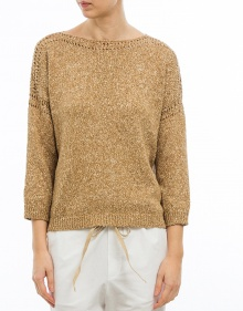 Rustic cotton sweater MASSCOB