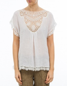 Blusa bordados centrales MASSCOB