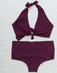 C/Bikini culotte - berengena MASSCOB