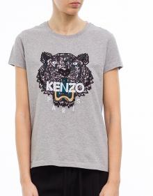 T-shirt mc tigre print KENZO