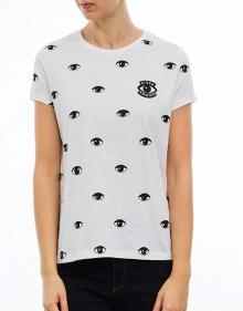 C/T-shirt ojitos - blanco KENZO