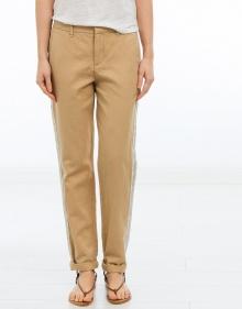 Pantalón lino franja dorada ZADIG & VOLTAIRE