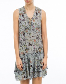Tattoo printed dress ZADIG & VOLTAIRE