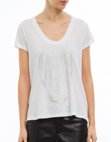 T-shirt dibujo metálico ZADIG & VOLTAIRE