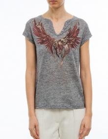 Camiseta águila ZADIG & VOLTAIRE
