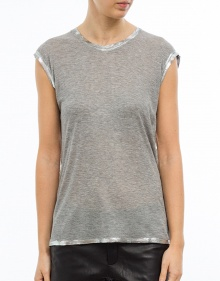 Metallic T-shirt ZADIG & VOLTAIRE