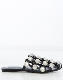 AMELIA suede sandals - black ALEXANDER WANG