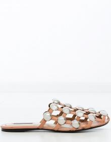 AMELIA suede sandals - beige ALEXANDER WANG