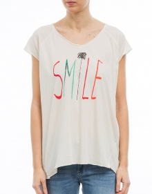 T-shirt mc over smile THE HIP TEE