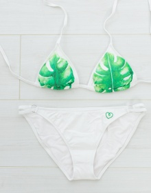 Bikini triangulo palmeras THE HIP TEE