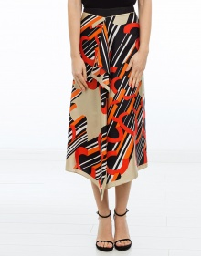 Printed skirt CARVEN