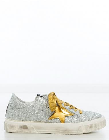 calzado Sneakers MAY glitter GOLDEN GOOSE DELUXE BRAND