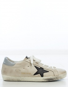 SUPERSTAR black silver Sneaker GOLDEN GOOSE DELUXE BRAND