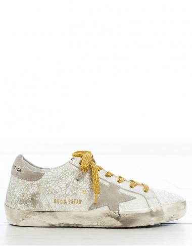 calzado Sneakers crash leather SUPERSTAR GOLDEN GOOSE DELUXE BRAND