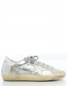 Sneakers silver SUPERSTAR GOLDEN GOOSE DELUXE BRAND