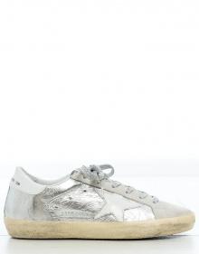 SUPERSTAR silver Sneaker GOLDEN GOOSE DELUXE BRAND