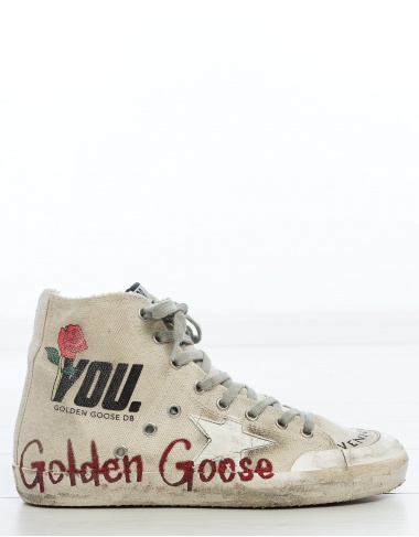 calzado Sneakers FRANCY lona letras GOLDEN GOOSE DELUXE BRAND