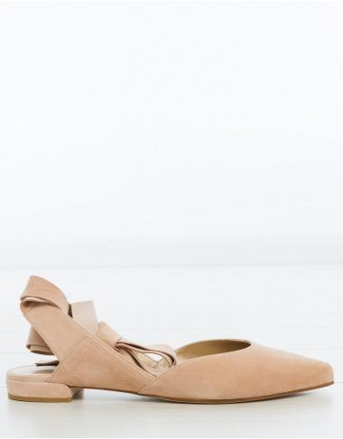 calzado Bailarina cintas SUPERSONIC - beige STUART WEITZMAN