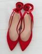 calzado- C/ Bailarina cintas STUART WEITZMAN