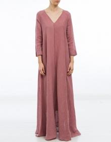 Vestido largo lino FORTE FORTE
