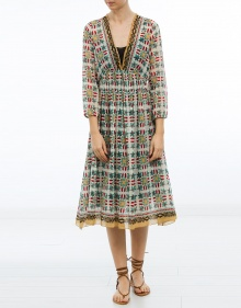 Printed cotton dress FORTE FORTE