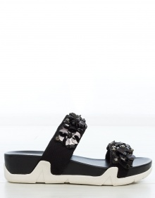 Sneaker sandals leather flowers ASH