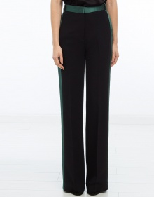 Lateral stripe trousers - black V.V. BECKHAM