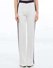Pantalón franjas lateral - blanco V.V. BECKHAM