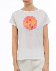 T-shirt flor rosa A.P.C.