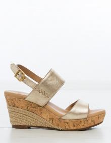 ELENA wedge sandals - gold UGG