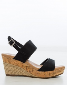 ELENA wedge sandals - black UGG