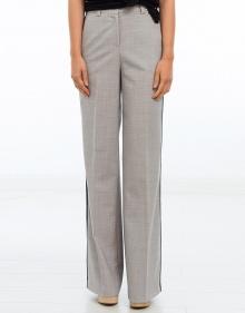 Pantalón amplio raya contraste TWIN-SET