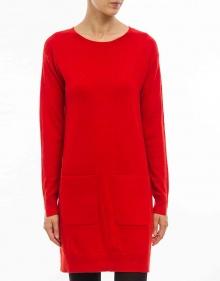 C/Vestido cashemere - rojo TWIN-SET