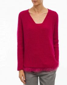 C/Jersey bajos pelito - rosa TWIN-SET