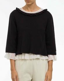 Jersey dos capas bicolor TWIN-SET