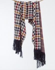 Multicolor chequered scarf TWIN-SET