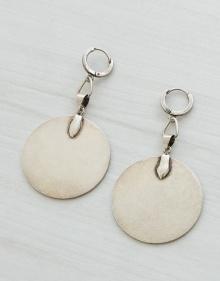 Circular plate earrings ISABEL MARANT