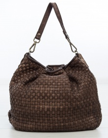 Big Hermenegilda bag - brown MALABABA