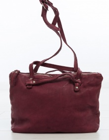 Small Martela bag - burgundy MALABABA
