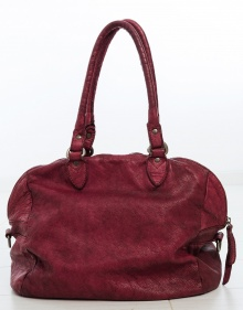 Daniela medium bag - burgundy MALABABA