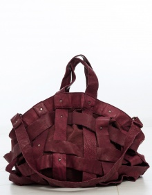 XL Cestona bag - burgundy MALABABA