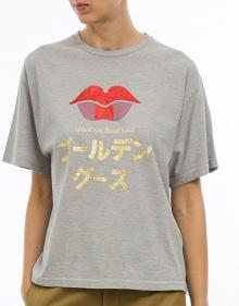 T-shirt labios GRACE GOLDEN GOOSE DELUXE BRAND